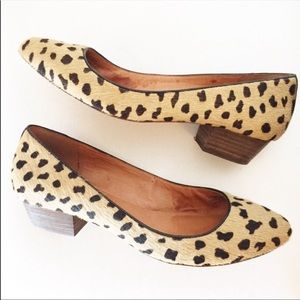 Madewell leopard shoes